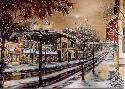 Susan Amidon Moonlight on Grand Avenue