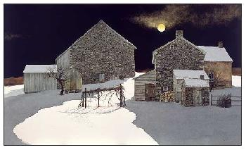 Peter Sculthorpe Moonscape Giclee on Paper