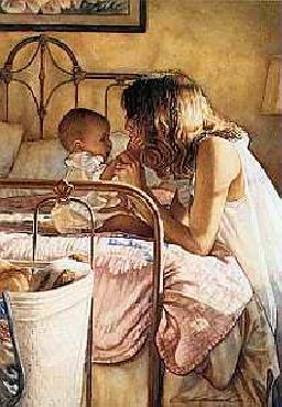 Steve Hanks Mother and Child Bond