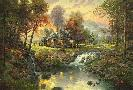 Thomas Kinkade Mountain Retreat