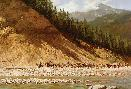 Howard Terpning Moving Day on the Flathead