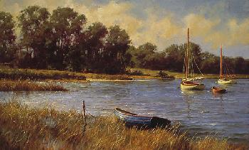 Don Demers Nantucket Morning Canvas