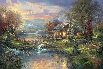 Thomas Kinkade Nature