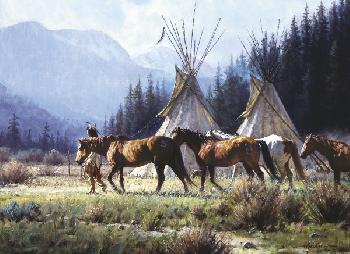 Martin Grelle A New Day Open Edition Giclee on Canvas