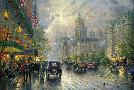 Thomas Kinkade New York, Fifth Avenue