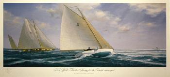 John Mecray New York Thirties Giclee on Canvas