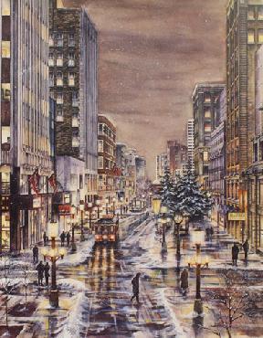 Susan Amidon Nicollet Avenue Artist