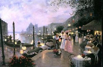 Christa Kieffer Night Festival in Venice