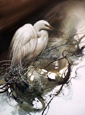 Lee Bogle Night Watch Giclee on Paper