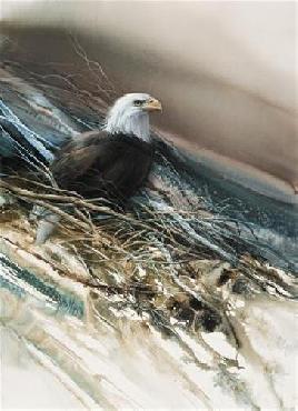 Lee Bogle Noble One Giclee on Canvas