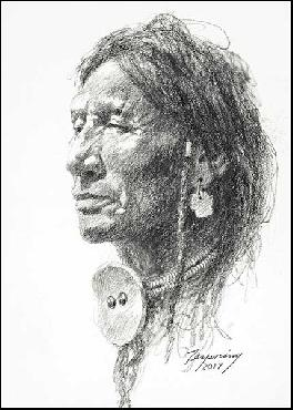 Howard Terpning Northern Peigan Artist