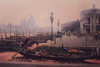 Randy Peyton November Fog - Venice