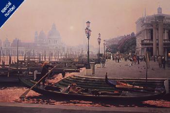 Randy Peyton November Fog - Venice Print #30/30 Artist