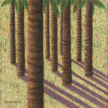 Lynne Bernbaum Oasis 5 Canvas