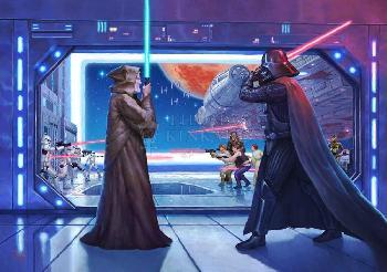 Thomas Kinkade Obi-Wan