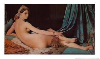 Jean Auguste Dominique Ingres Odalisque