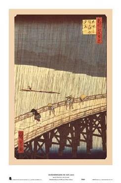 Utagawa Hiroshige Ohashi Bridge in the Rain