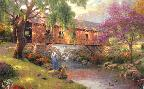 Thomas Kinkade The Old Fishin