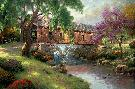 Thomas Kinkade Old Fishin
