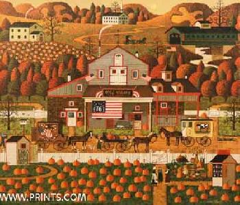 Charles Wysocki Old Glory Farms Artist