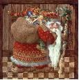 Christensen Old World Santa Open Edition Giclee on Canvas