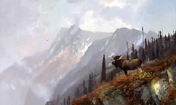 Michael Coleman On the Halfway - Moose Artist