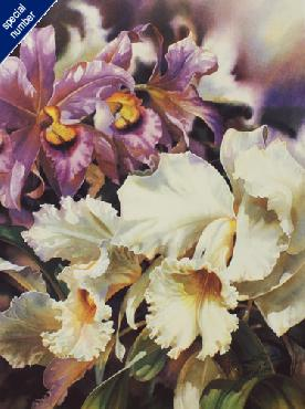 Darryl Trott Orchids I Print #30/30 Artist