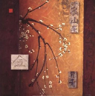Don Li-Leger Oriental Blossoms II