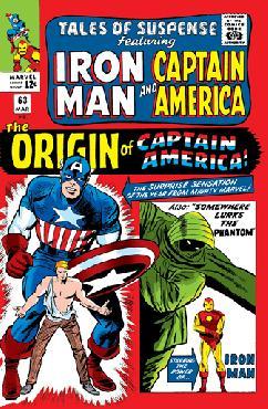 Stan Lee Origins: The Phantom Tales of Suspense #63 Giclee on Canvas