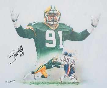 Cindy Erkfitz Sirls Packer Pride Autographed by Brian Noble