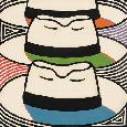 Bernbaum Panama Hats Series Triple Threat Canvas
