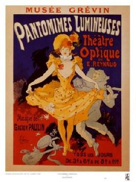 Jules Cheret Pantomimes Lumineuses