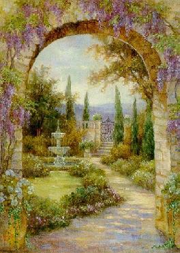 Lena Liu Paradise Fountain