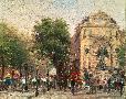 Thomas Kinkade Paris, St. Michel