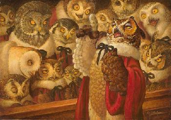 Scott Gustafson A Parliament of Owls Artist