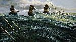 Ron Van Gilder Passing Storm - Canvasbacks