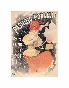 Jules Cheret Pastilles Poncelet