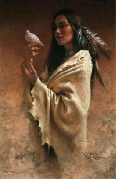 Lee Bogle Peace Giclee on Canvas