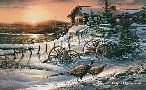 Terry Redlin Peaceful Evening