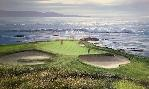 Peter Ellenshaw Pebble Beach 7th Hole