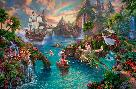Thomas Kinkade Peter Pan