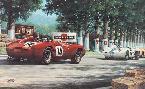 Michael Mate Phil Hill at Le Mans, 1958 - Ferrari