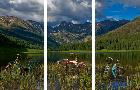 Todd Van Fleet Piney Lake Triptych