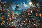 Thomas Kinkade Pirates of the Caribbean