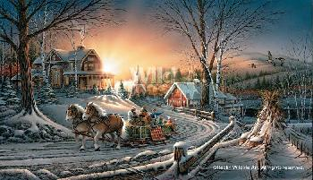 Terry Redlin Pleasures of Winter