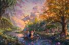 Thomas Kinkade Pocahontas - Colors of Love