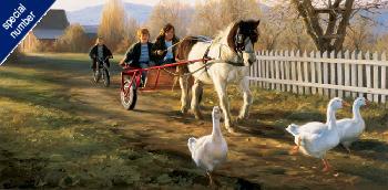 Robert Duncan Pony Cart Print 30/30 Artist