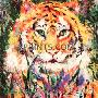 LeRoy Neiman Portrait of the Tiger