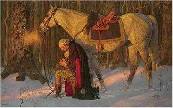 Arnold Friberg The Prayer at Valley Forge