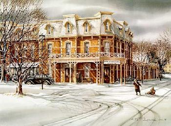 Trisha Romance The Prince of Wales Hotel Giclee on Paper